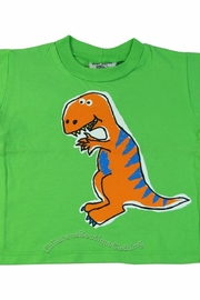 Flap Happy Dinosaur Green Tee - Product Mini Image
