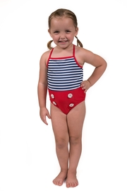 Flap Happy Sailor Striped Swimsuit - Product Mini Image