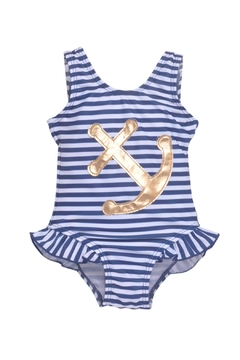 Flap Happy Stripe Anchor Swimsuit - Product List Image