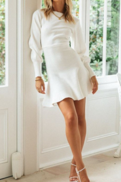 ONE AND ONLY COLLECTIVE Flare Bottom Sweater Dress - Alternate List Image