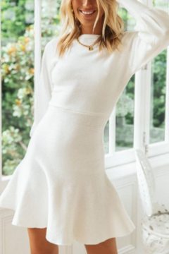 ONE AND ONLY COLLECTIVE Flare Bottom Sweater Dress - Product List Image