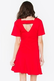Sugar Lips Flare Dress - Side cropped
