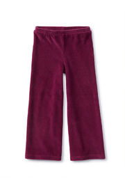 Tea Collection  Flare For Fun Stretch Pants - Cosmic Berry - Front cropped