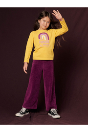 Tea Collection  Flare For Fun Stretch Pants - Cosmic Berry - Other
