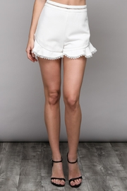 Do & Be Flare Frill Shorts - Front cropped