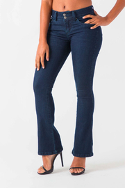 Funky Soul Flare Jeans - Product Mini Image