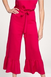 Everly Flare-Out Leg Jumpsuit - Side cropped