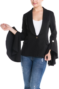 Shoptiques Product: Flare Sleeve Blazer
