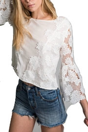 Allison Collection Flare Sleeve Top - Product Mini Image