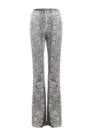 Renamed Clothing Flare Snake Pant - Product Mini Image
