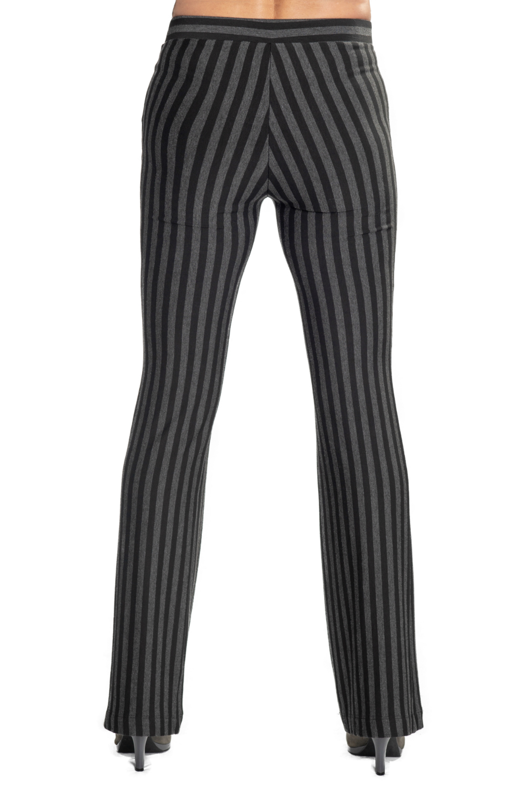 CAPOTE Flare Striped Pant - Side Cropped Image