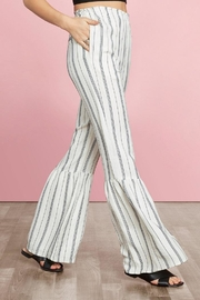 Willow & Clay Flare Striped Pant - Product Mini Image