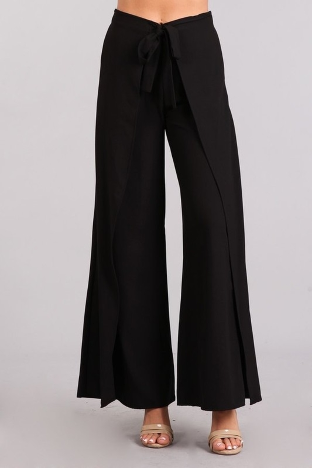 Blvd Flare Style pants - Front Cropped Image