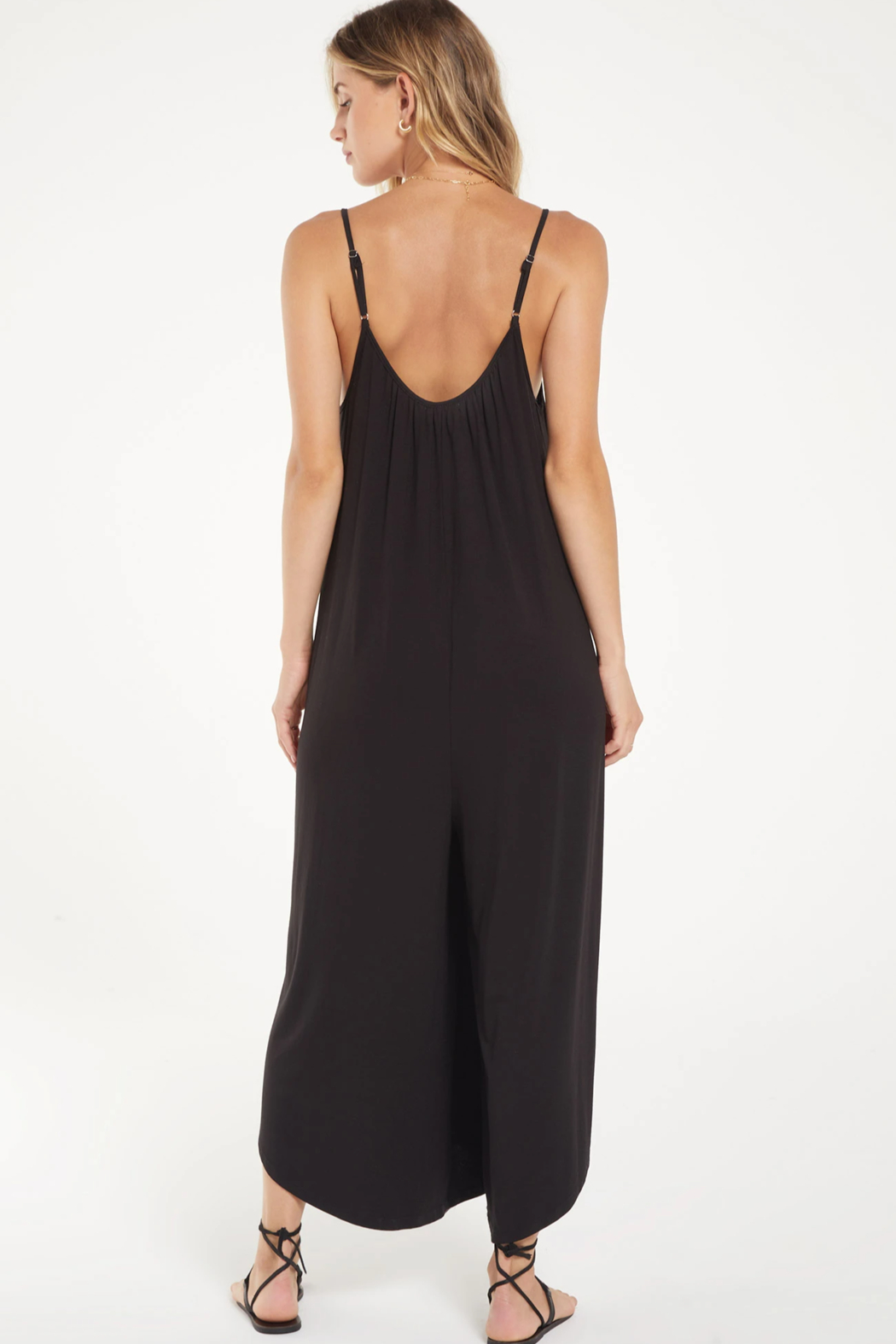 z supply Flared Jumpsuit - Back Cropped Image