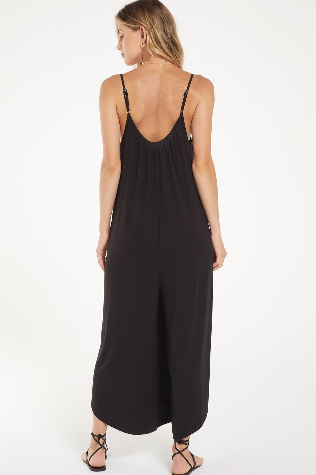 Zsupply Flared Jumpsuit - Side Cropped Image
