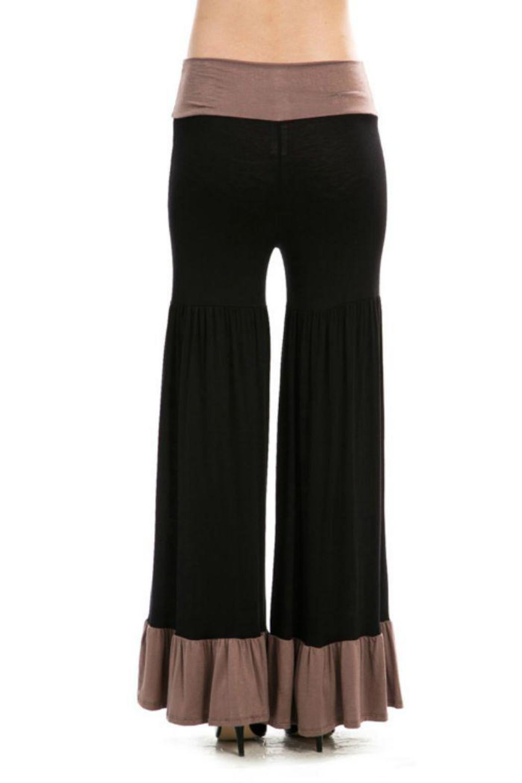 Flared Ruffle Pants from Alabama by A Dash of Fashion ...