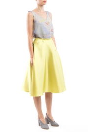 Clara Kaesdorf Flared Skirt Yellow - Product Mini Image