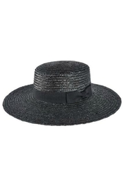 Olive & Pique Flat Brim Boater - Product Mini Image
