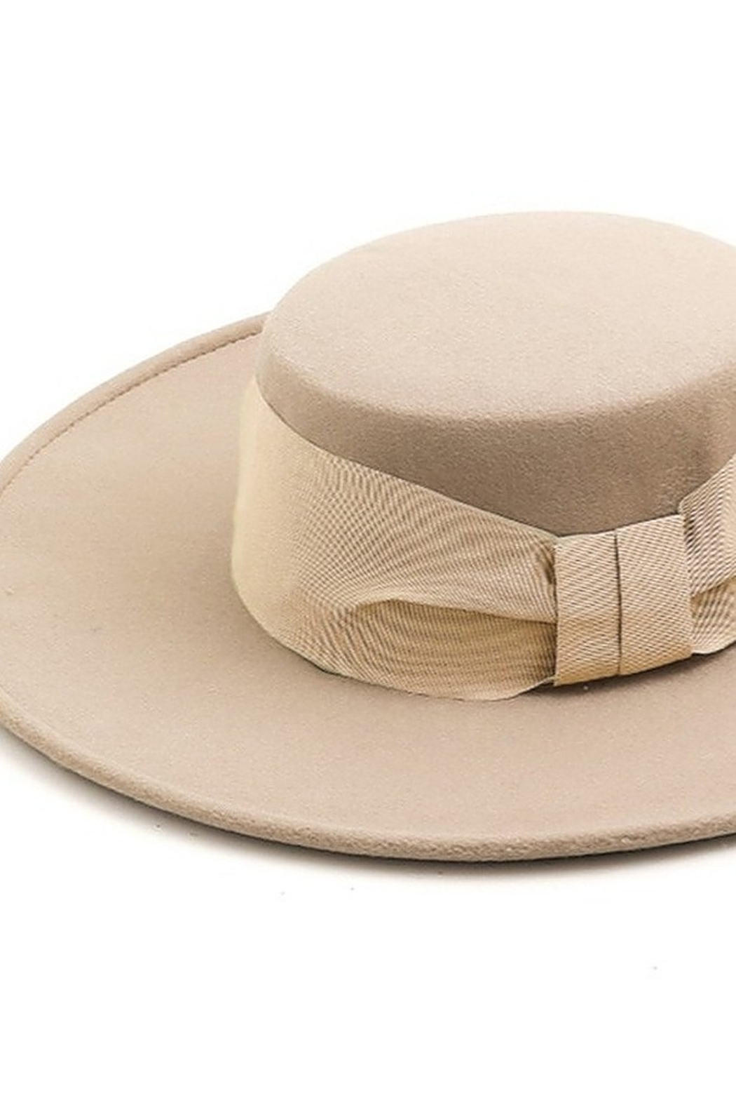 Fame Accessories Flat Brim Fedora - Front Full Image
