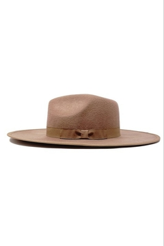 Olive & Pique Flat Brim Fedora - Alternate List Image