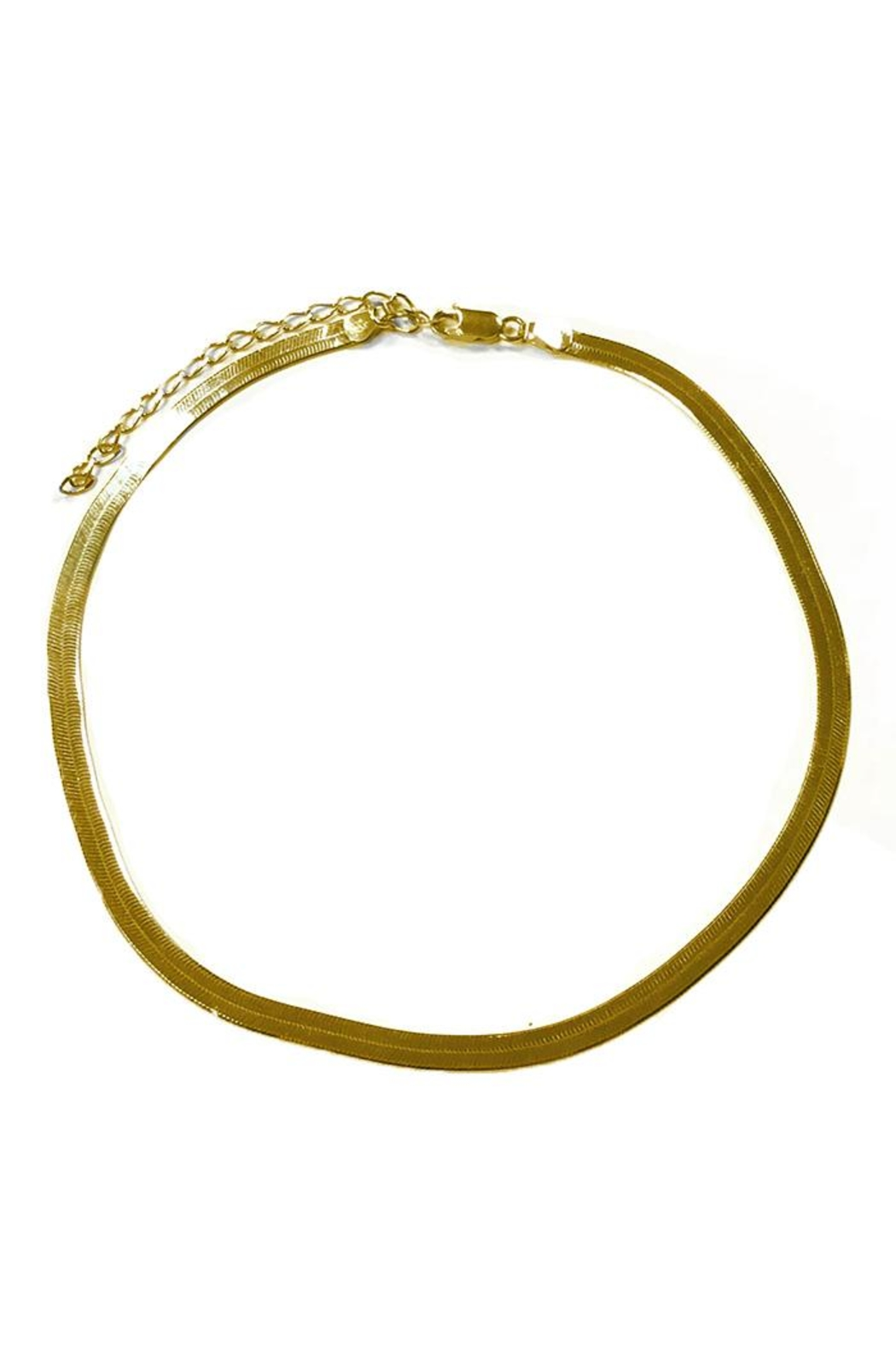 Lets Accessorize Flat Chain Necklace - Main Image