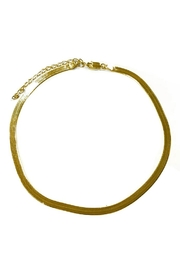 Lets Accessorize Flat Chain Necklace - Front cropped