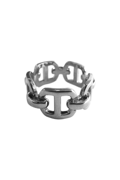 Malia Jewelry Flat Links Ring - Product List Image