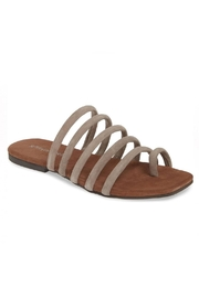 Jeffrey Campbell Flat Strappy Sandal - Front full body