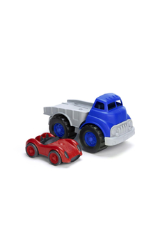 Shoptiques Product: Flatbed Truck And Race Car