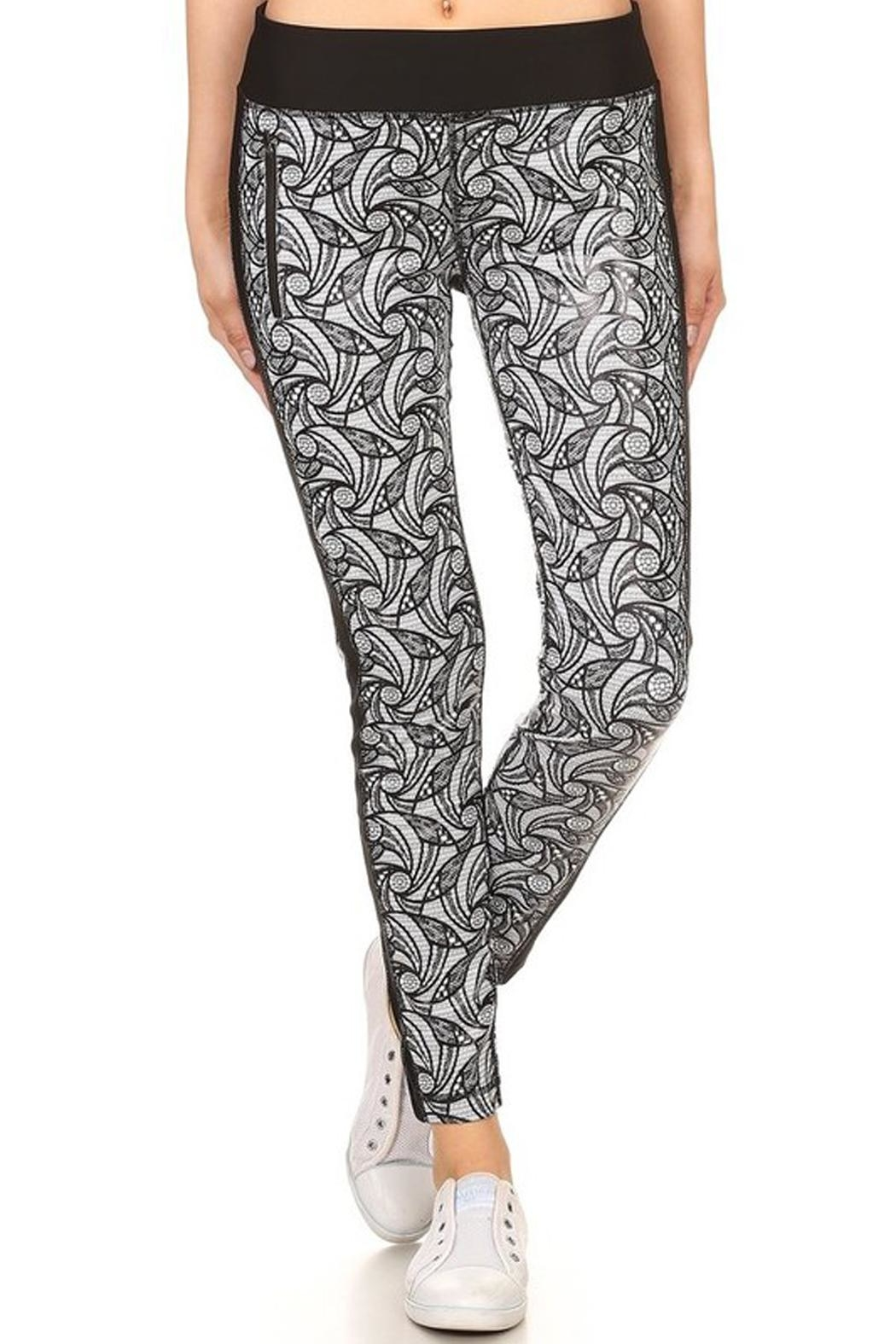 New Mix Flatlock Stitch Pant from New York by Avenue A