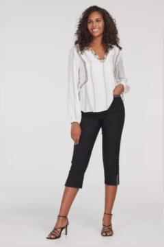 Shoptiques Product: Flatten It Capri w/ Lurex