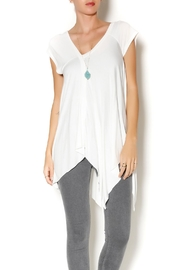 Clea Ray Flattering Asymmetrical Top - Product Mini Image