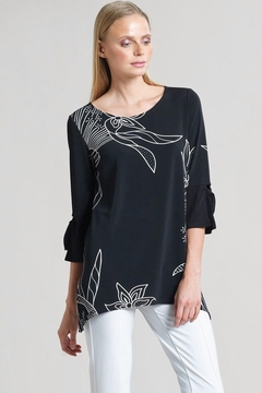 Clara Sunwoo Flattering Black & White Tunic Top #1 Seller! - Product List Image
