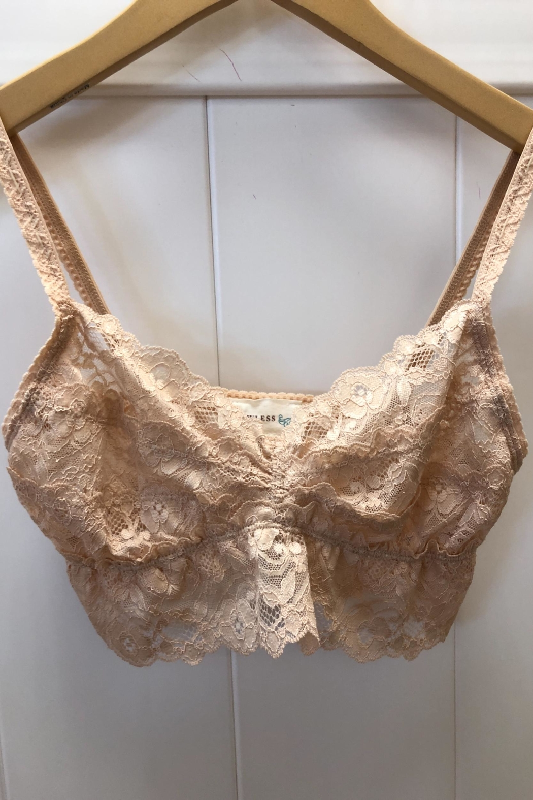 Flawless Nude Lace-Bralette - Main Image