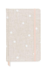 Sugar Paper Flax Dot Essential Journal - Front cropped