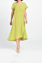 Flax Green Maxi Dress - Product Mini Image