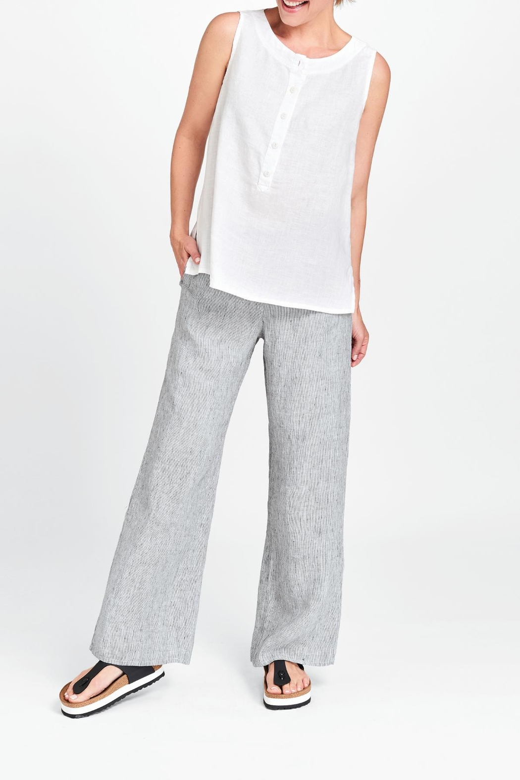 beautiful and charming huge range of get new Flax Linen Pant Full Leg from Maine by Ruthie's — Shoptiques