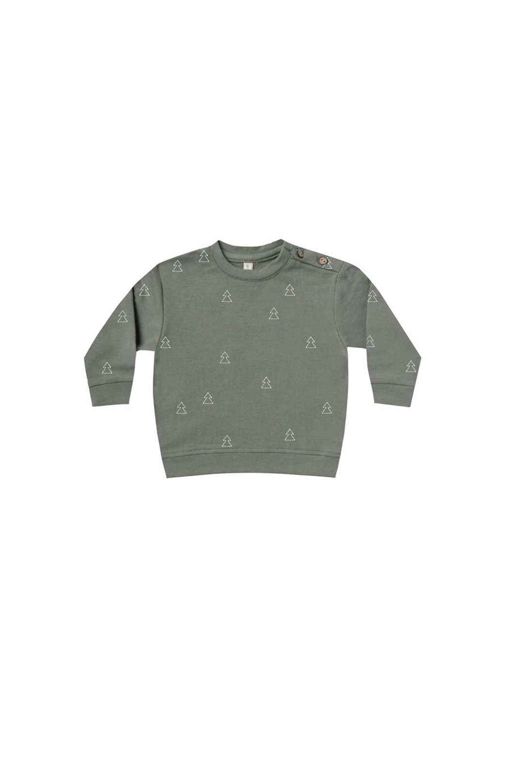 Quincy Mae Fleece Basic Sweatshirt - Main Image