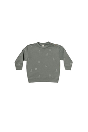 Quincy Mae Fleece Basic Sweatshirt - Front cropped