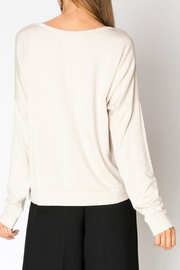 Miss Darlin Fleece Boatneck Sweatshirt - Side cropped