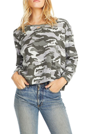 Chaser Fleece Camo Pullover - Front cropped