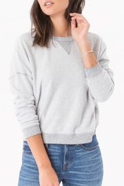 z supply Fleece Cropped Sweatshirt - Product Mini Image