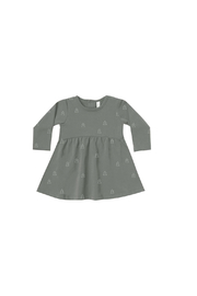 Quincy Mae Fleece Dress - Front cropped