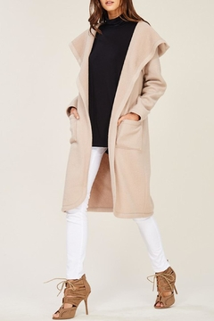 Shoptiques Product: Fleece Hooded Coat