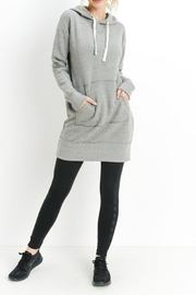 Mono B Fleece Hoodie Dress - Product Mini Image