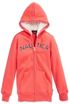Nautica Fleece Hoodie - Alternate List Image