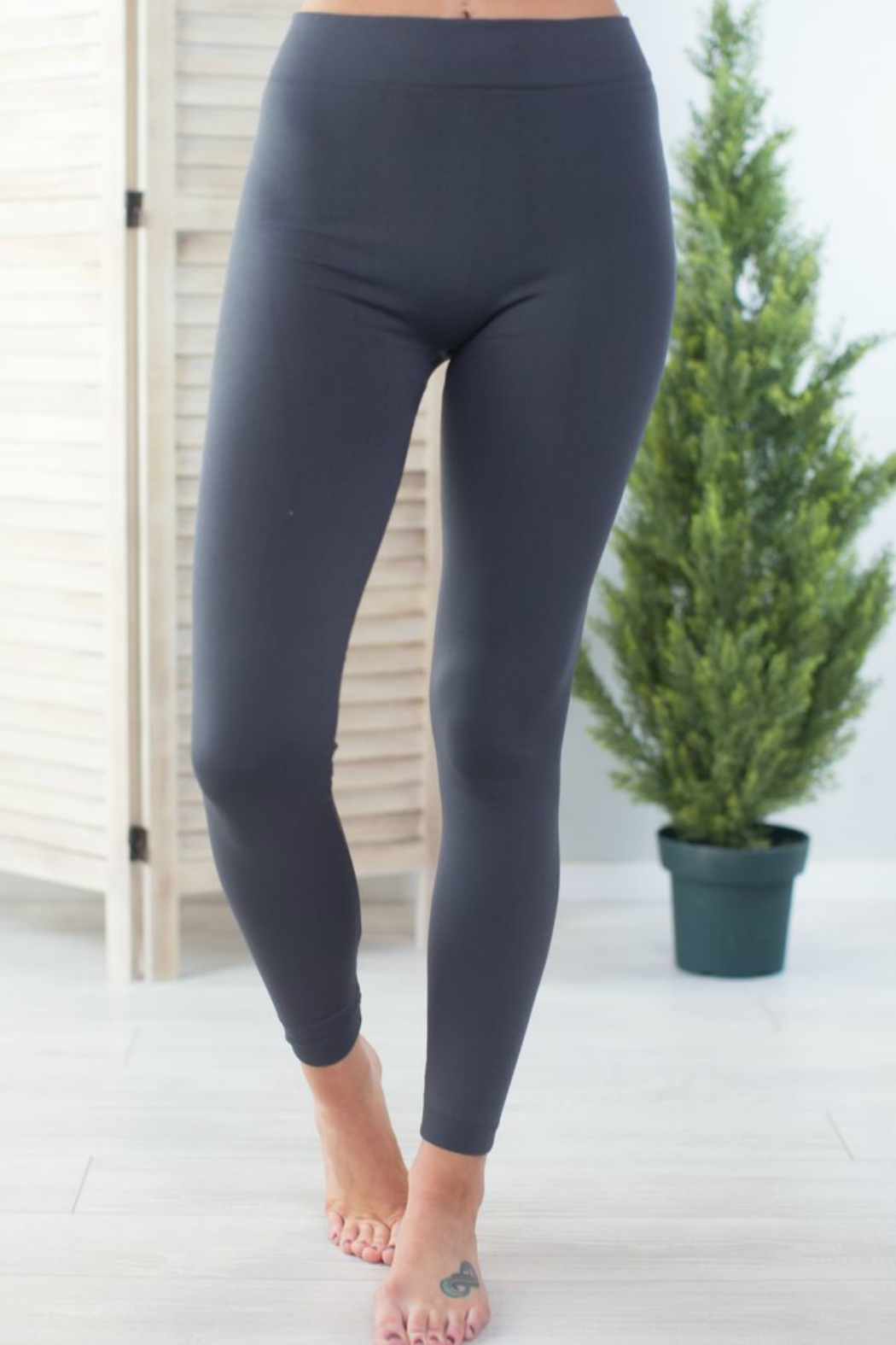 Giftcraft Inc.  Fleece Legging - Front Cropped Image