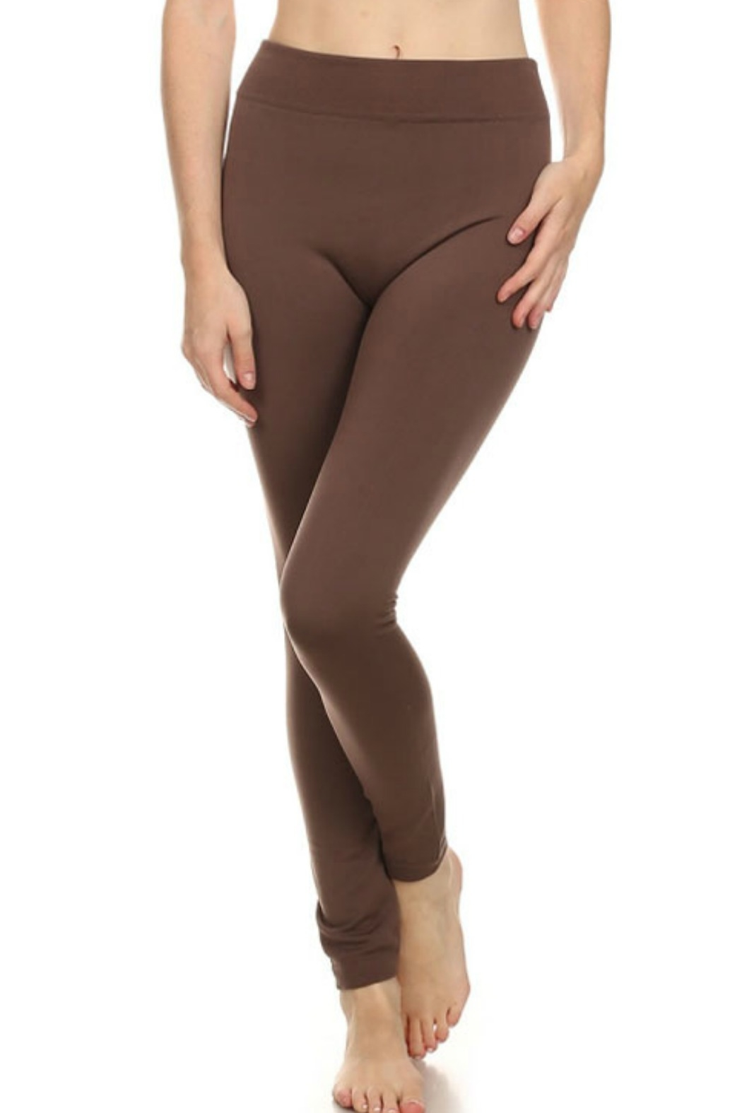 Anemone Fleece Lined Legging - Side Cropped Image