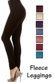 Anemone Fleece Lined Legging - Front cropped
