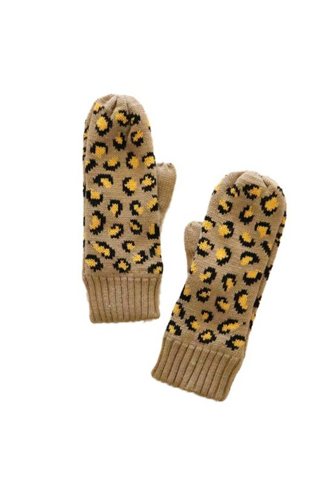 Pretty Little Things Fleece Lined Mittens - Main Image